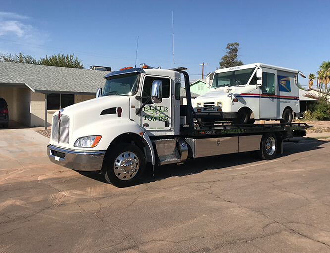 commercial towing service